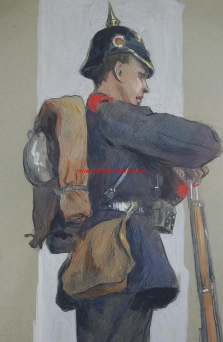 """Autorretrato de 1901 de """"Georg Wolf"""""""